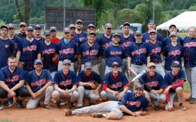 'MOWERS besiegen DEVILS nach 7 Innings